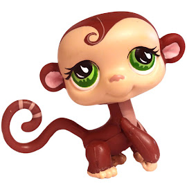 Littlest Pet Shop Gift Set Monkey (#590) Pet
