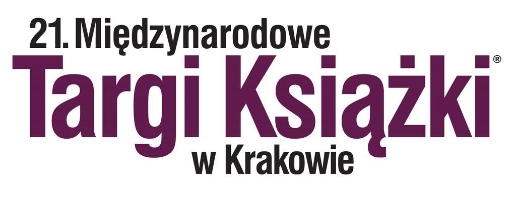 logotyp 21. Międzynarodowych Targów Książki w Krakowie