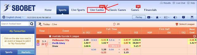 Cara Bermain Judi Casino Sicbo Online