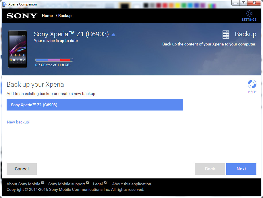 Xperia Companion 1.1.24.0 adds Support for more Models ...