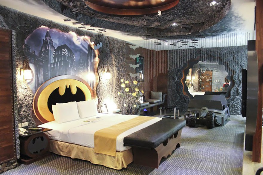 25. The Batcave, Taiwan - 26 Of The Coolest Hotels In The Whole Wide World