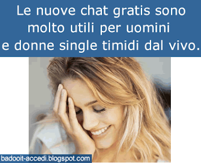 chat gratuita senza registrazione per single