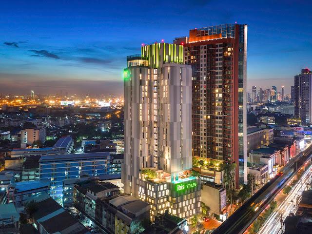 Ibis Styles Sukhumvit Phra Khanong Hotel in Bangkok, Thailand