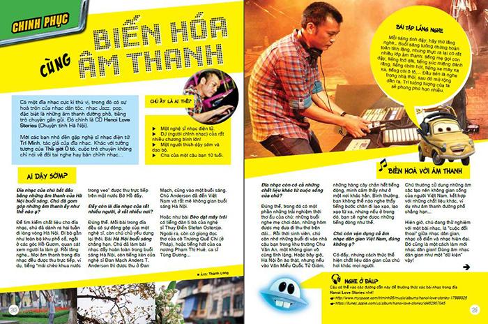 Sản phẩm học Indesign tại Việt Tâm Đức