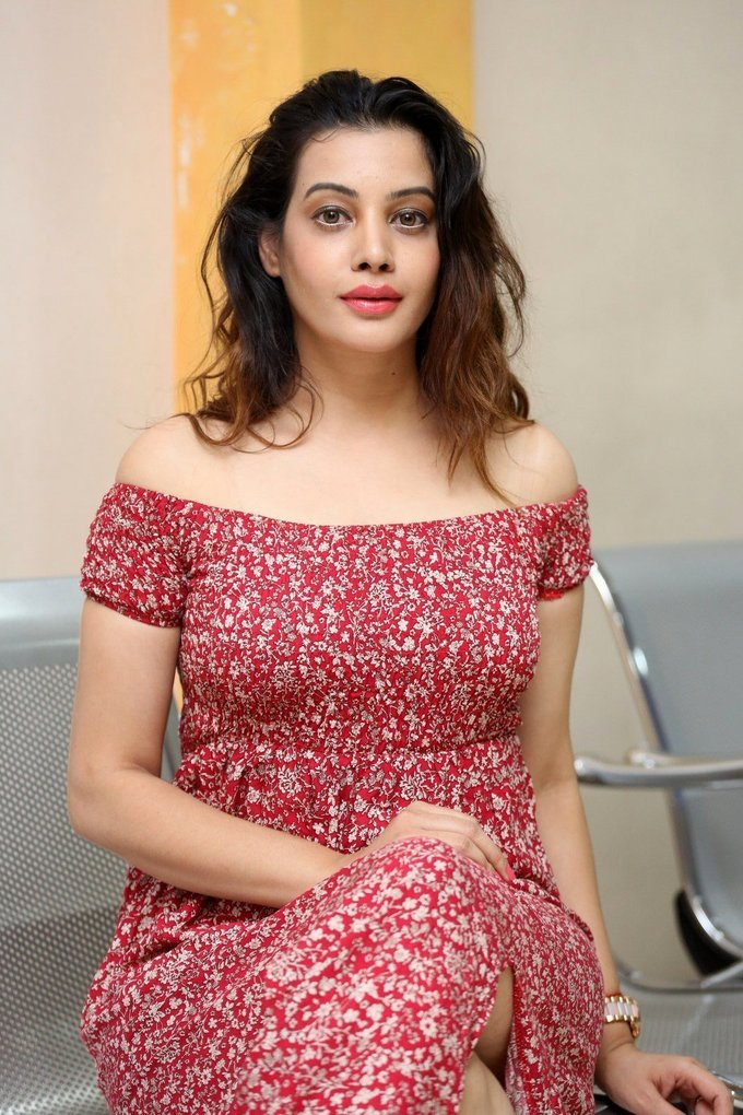Diksha Panth Hot at Maya Mall Pre Release Event Gallery