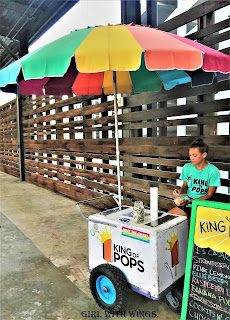 King Of Pops Cart