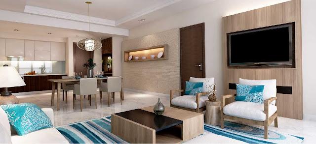 thiết kế hiện đại tạo nên phong cách đặc biệt của dự án
