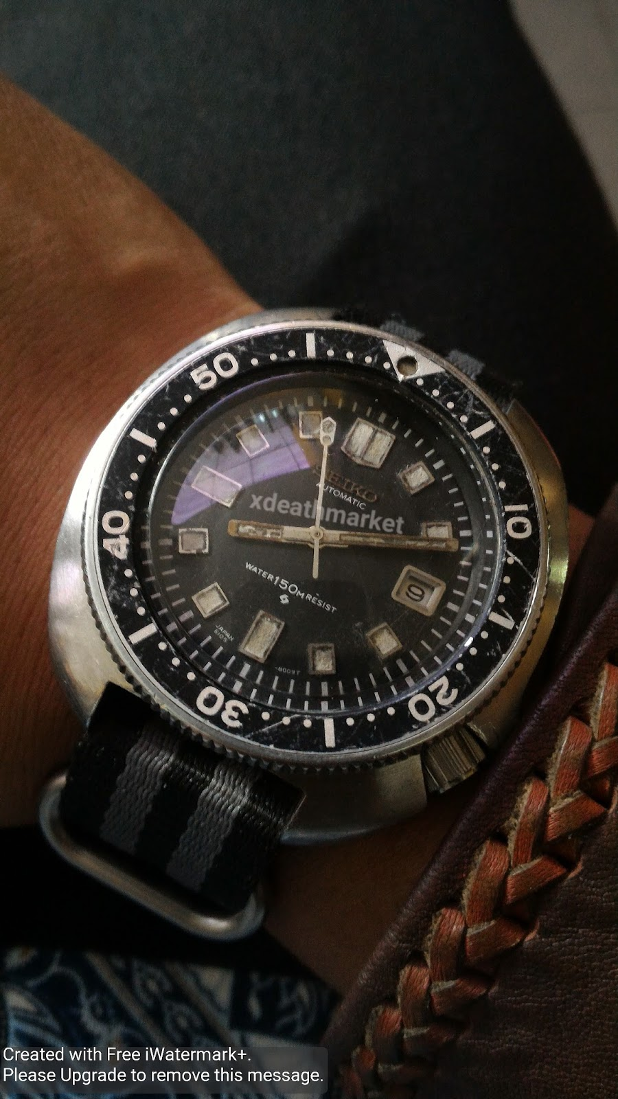 xDeath Market: (SOLD) Seiko Automatic Diver Reff. 6105 ...
