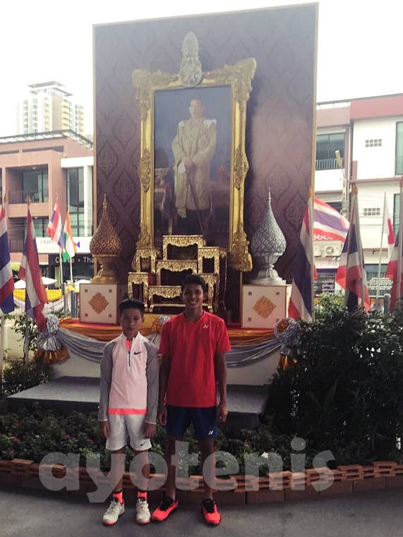 Kalahkan Petenis Tuan Rumah, Ingvar Abramovich Rusli Melaju ke Perempat Final ATF Thailand
