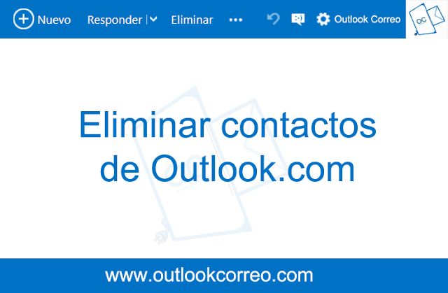 Eliminar contactos de Outlook.com