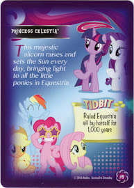 My Little Pony Princess Celestia Equestrian Friends Trading Card