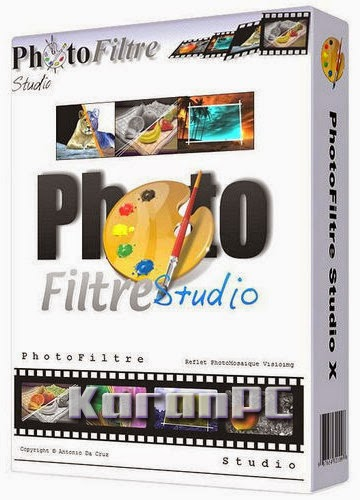 PhotoFiltre Studio X 10.9.2 + Key