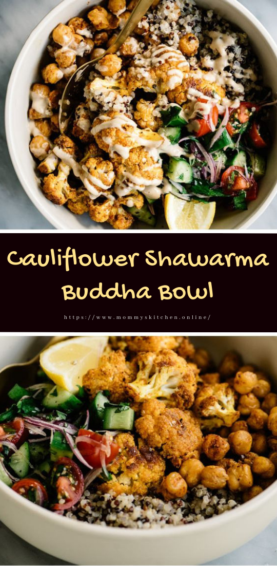 Cauliflower Shawarma Buddha Bowl #dinnerrecipe #amazingrecipe