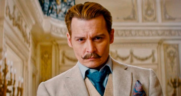 Johnny Depp es Charlie Mortdecai