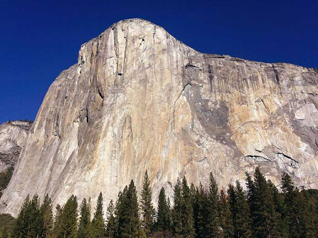 Solo climber Alex Honnold is 1st up Yosemite's El Capitan without ropes