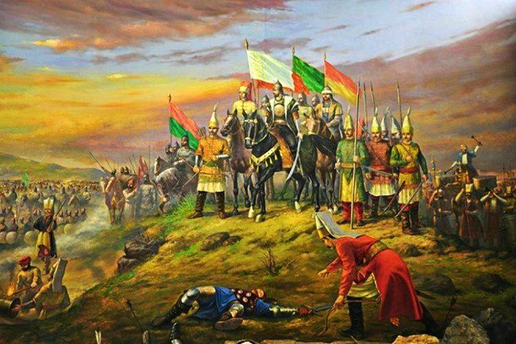 Lala Şahin Paşa gecenin zifiri karanlığında 800 Osmanlı askeri ile saldırıya geçti.