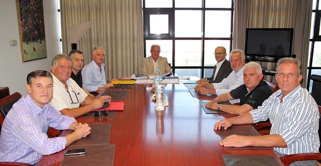 Συνάντηση ΓΕΩΤ.Ε.Ε. με τον Συντονιστή της Αποκεντρωμένης Διοίκησης Πελοποννήσου, Δυτ. Ελλάδας & Ιονίου