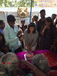 Tamil Actress Varalaxmi Sarathkumar Birthday Celetion Stills  0004.jpg