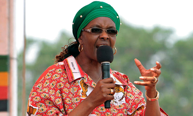 Zimbabwe's First Lady, Grace Mugabe says her husband should name a successor