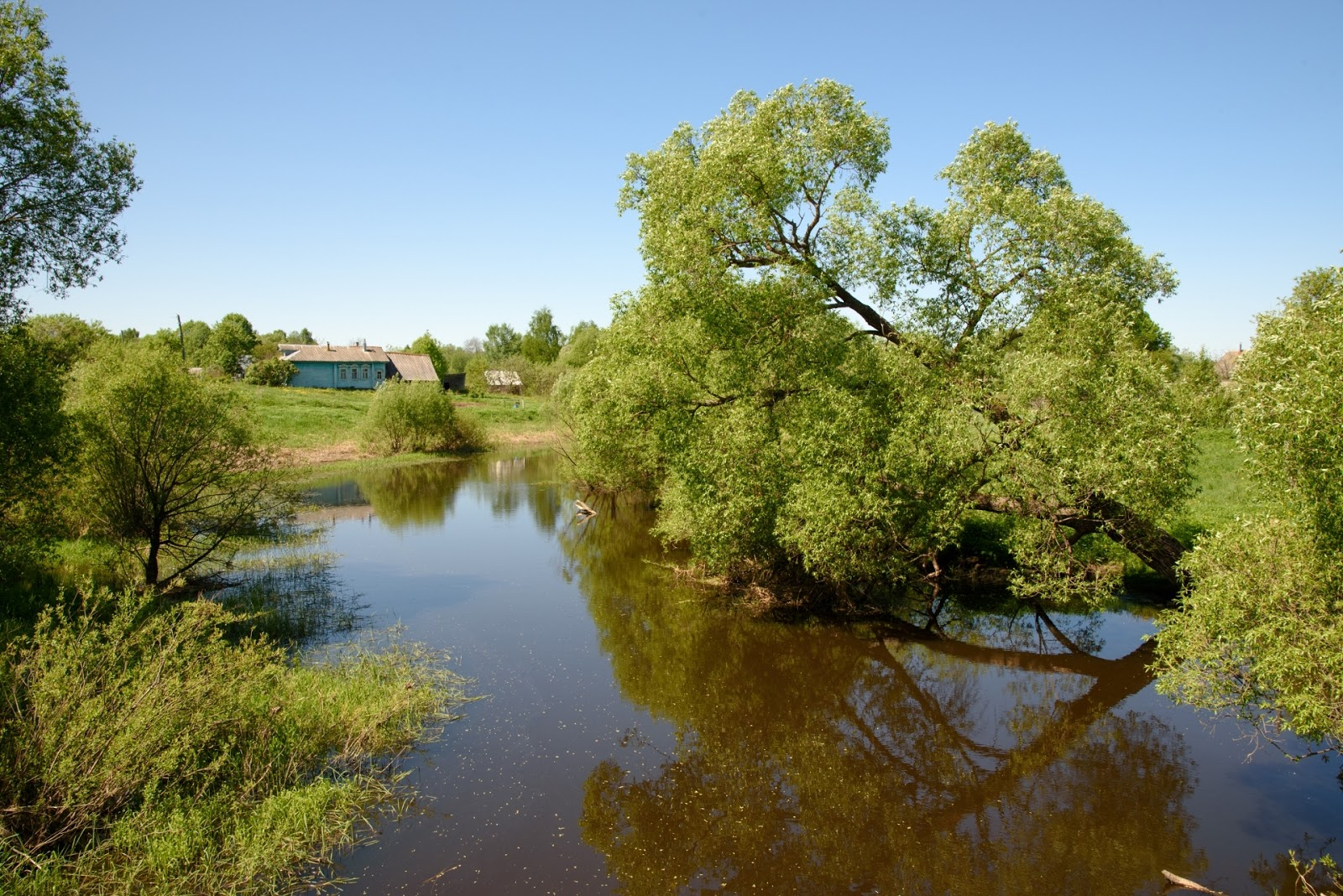 Река Парша. Парское