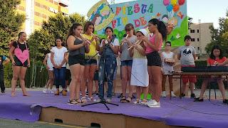 Fiesta Fin de Curso Quinto de Primaria