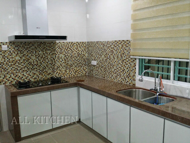 Kabinet Dapur Murah Gombak Desainrumahid Com