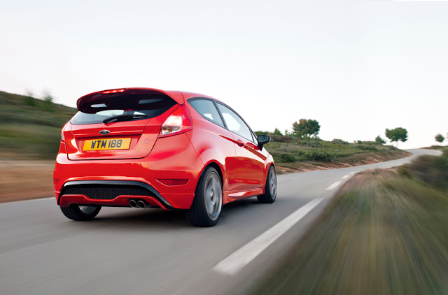 Rear shot of the 2013 Ford Fiesta ST - Subcompact Culture