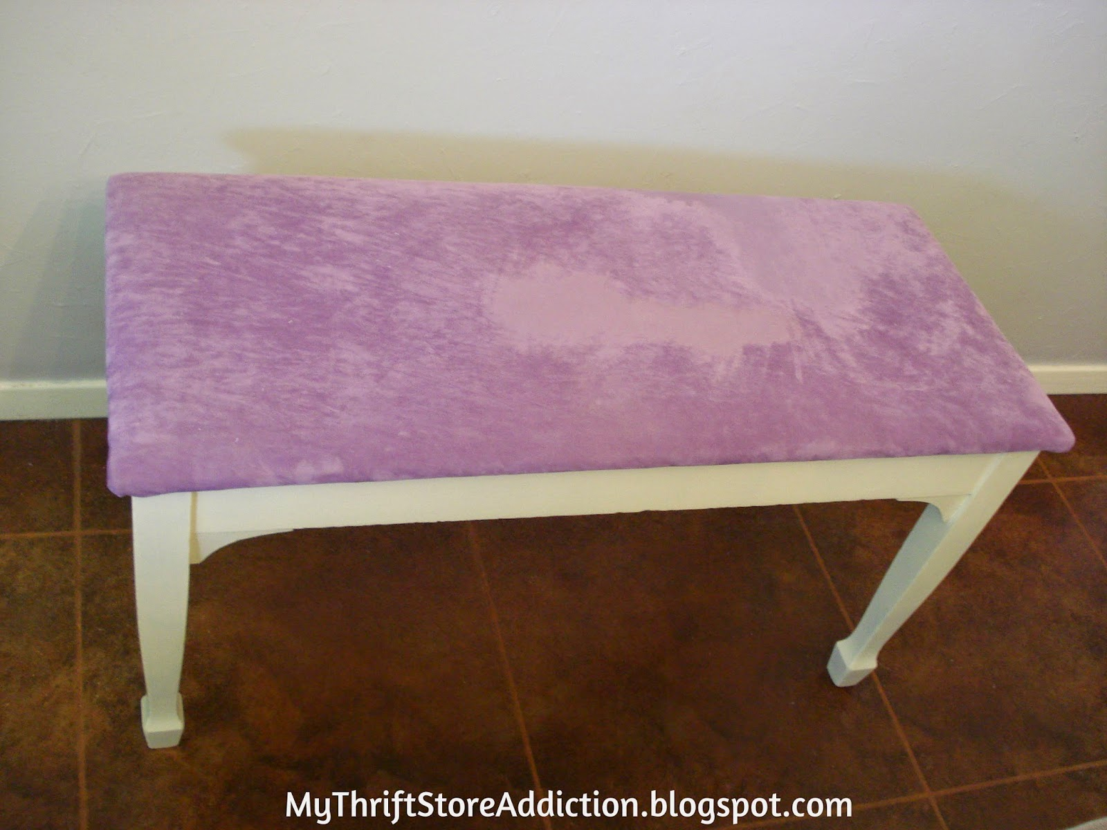 Upcycled piano bench