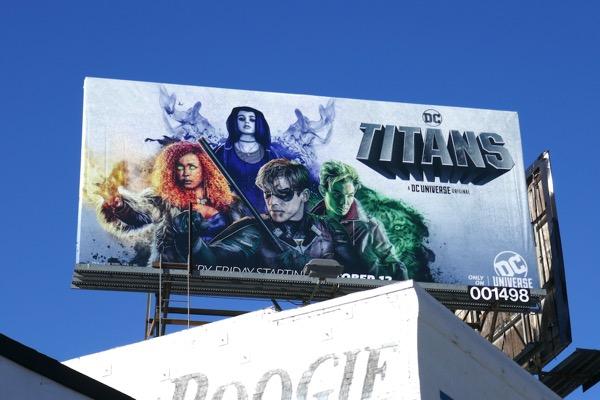 DC Titans billboard