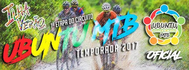 Ilha Verão Esportivo 2017 com inscrições abertas para Circuito Ubuntu de Mountain Bike