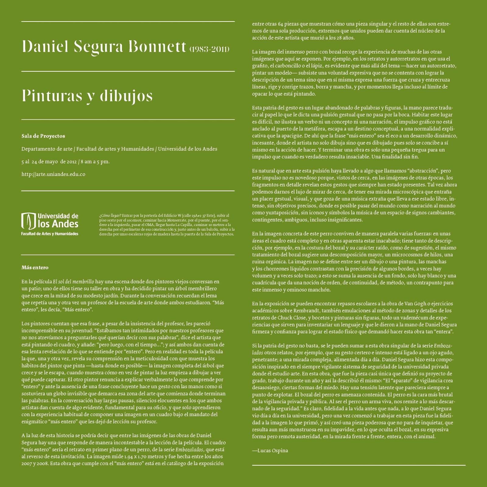 Respuesta a Piedad Bonnet | Lucas Ospina