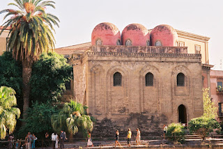 The church of San Cataldo in Piazza Bellini in Palermo is an example of the city's fusion of architectural styles