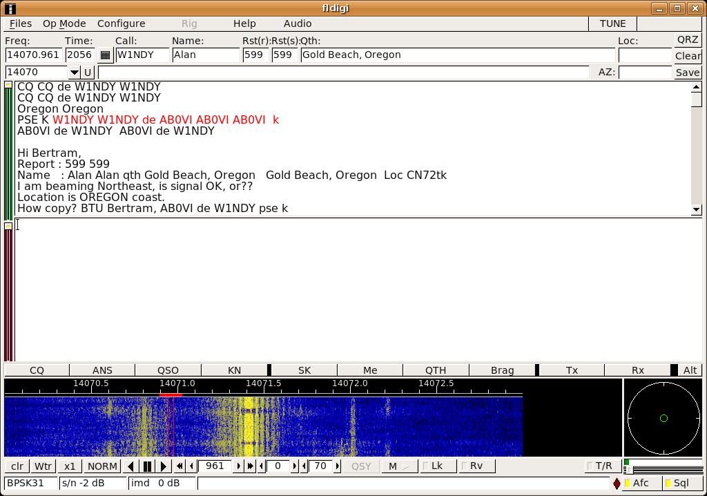 RadioSpirit: Installer FLDigi sous linux facilement