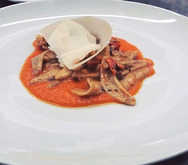 Il piatto autunnale di Patrizia Girardi, chef dell'Amastuola