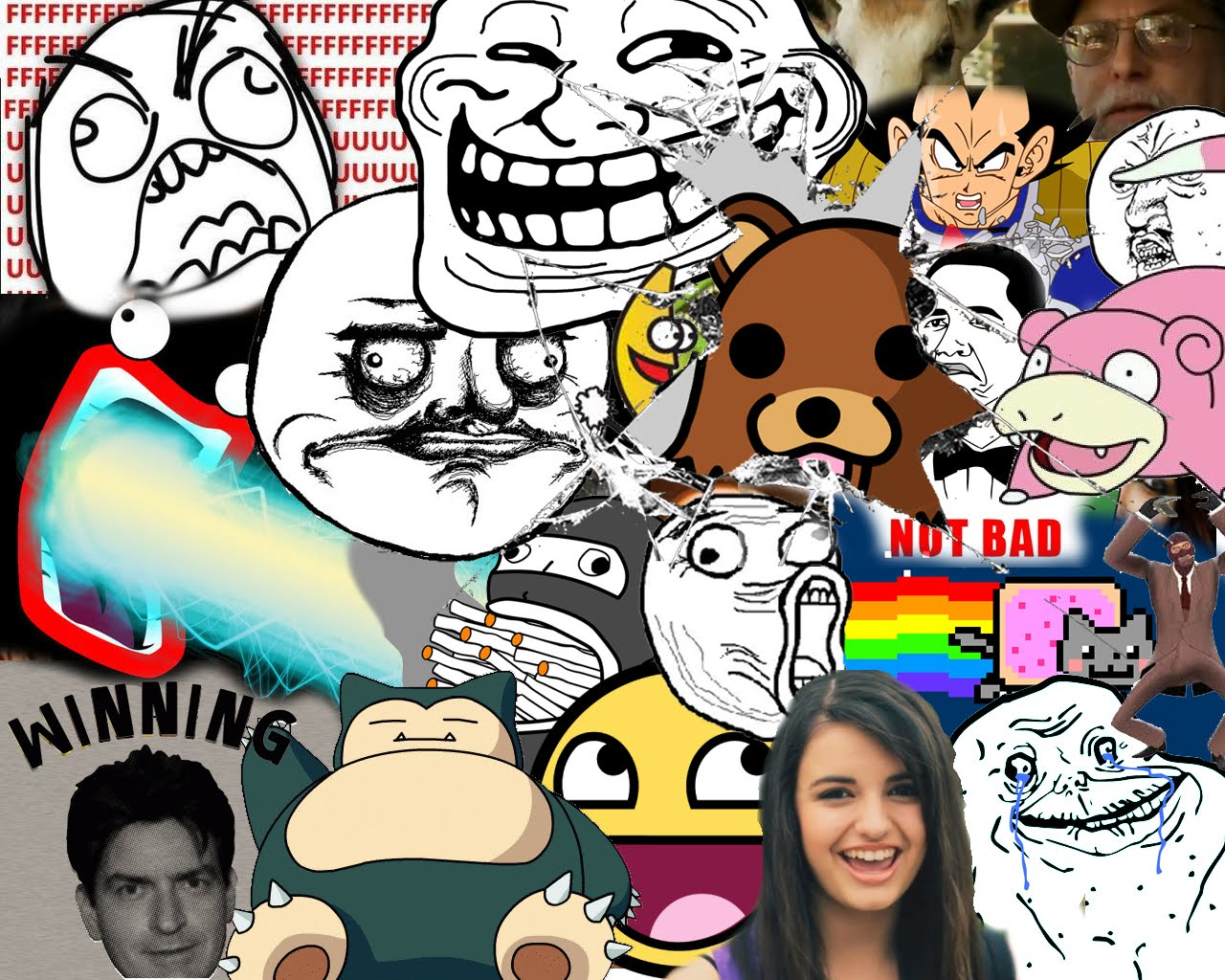 made a meme coll...U Jelly Trollface