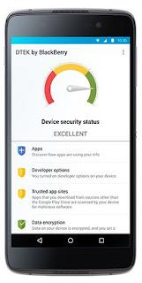 blackberry device security status
