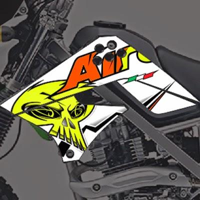 KLX Airoh Skull