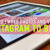 Cara Menautkan Foto dan Video di Instagram ke Blog