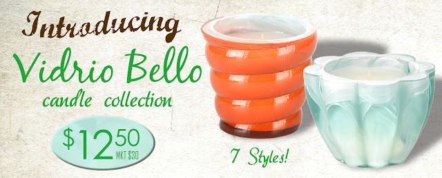 Vidrio Bello Candles