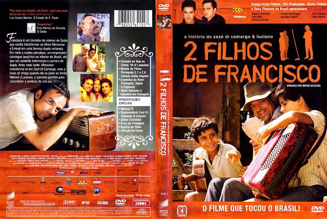 Capa DVD 2 FILHOS DE FRANCISCO