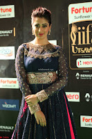Raai Laxmi in Beautiful Backless Designer Anarkali Gown at IIFA Utsavam Awards 2017  Day 2  Exclusive 42.JPG