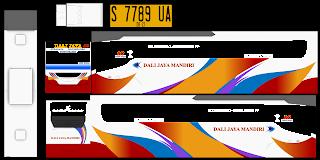 Download Livery Bus Discovery Dali Jaya Mandiri
