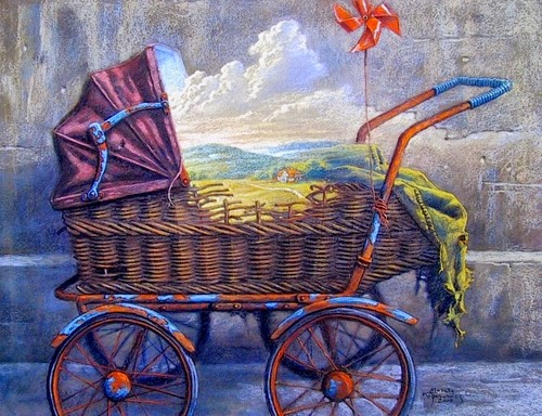 18-Land-Happy-Childhood-Marcin-Kołpanowicz-Paintings-of-Creative-Surreal-Worlds-ready-to-Explore-www-designstack-co