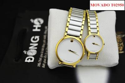 Đồng hồ cặp đôi Movado T02950