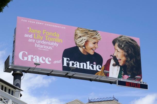 Grace and Frankie 2019 Emmy FYC billboard