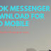 Facebook Messenger Free Download For Android Mobile