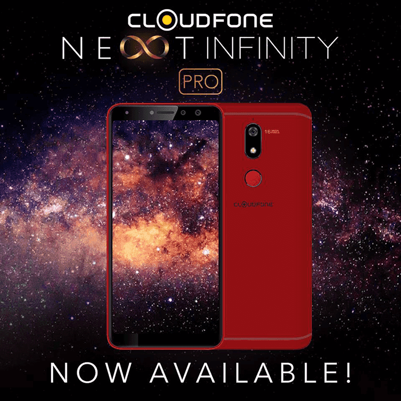 Cloudfone Next Infinity Pro Plus