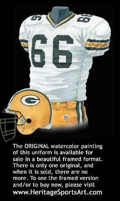 Green Bay Packers 2005 uniform
