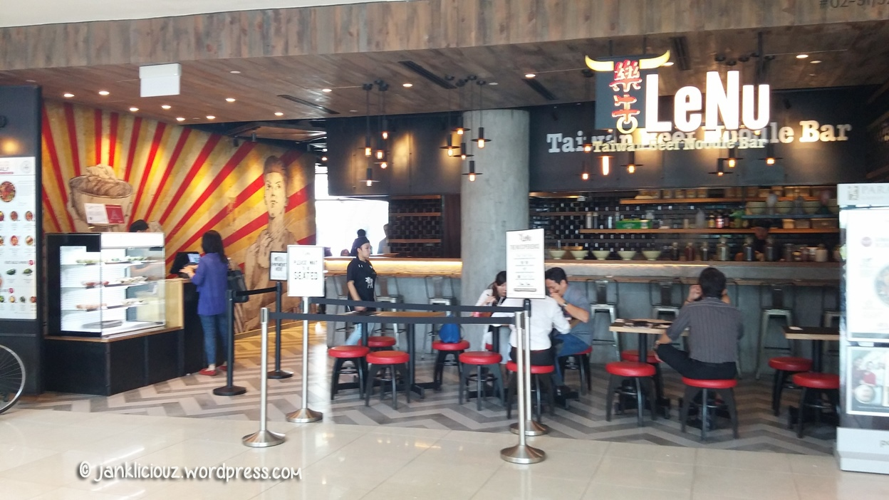 LeNu (樂牛) Taiwan Beef Noodle Bar