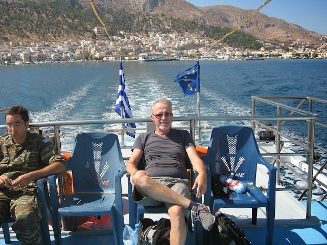 kalimnos adası katamaran gemi